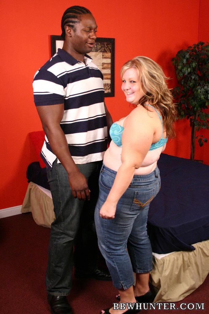 Bbw hunter interracial