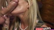 Busty stepmom Kristal Summers threesome