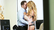 Hot big tits Corrina Blake gets fucked and gets her pussy dripping wet