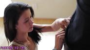 Hottie teen gets pounding