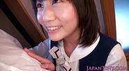 Tiny japanese schoolgirl licks nipples