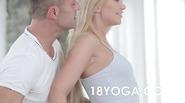 Lindsey Olsen Yoga Anal Creampie