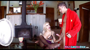 Bitchy Blonde milf gets dick