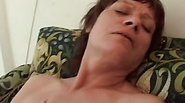 This Sexy Lady Gets Her Hairy Pussy Filled