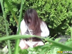 Spex asian pees in park
