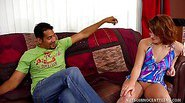 Red-Hot Ginger Bitch Cici Sweet Auditions for Sex Slave!