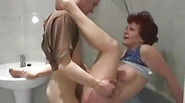 Mature fat slut get fucked