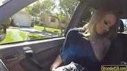 Stranded teen blonde girl Staci Carr fucked by stranger