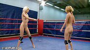 Blonde versus blonde in the ring again, and this time, no...