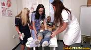 Sexy Nurses Take Patient'S Pants Off