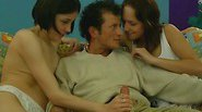 Liselotte and Quinty in a hot threesome