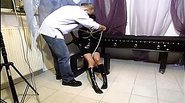 Hot slave girl getting tied up