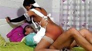 Hot ebony nurse fucking her patient