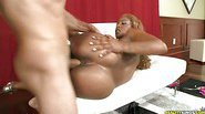 Moniice goes for a wild ride and gets pounded in multiple ways.