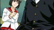 Nervous anime coed virgin with huge knockers gets screwed
