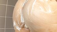 Ryo Asaka starts touching her vag in the shower