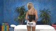 Naughty girl Callie fucks her massage client after a rub down