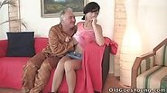 After a little coaxing Natalia agrees to fuck the older man and get a little experience