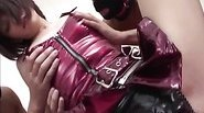 Cosplay angel Nene Mashiro enjoys having her hooded guys touching and fondling her body