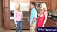 Rikki Six caught her BF with her stepmom