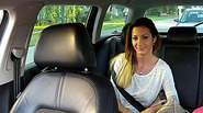 Busty euro amateur gets rammed in taxi and receives spermy cumshot