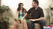 Babysitter Ariel Seduces Her Boss part 1