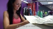 Eurobabe Heather fucked in local lingerie store that she own