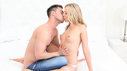 Super beautiful Karla Krush seduces her man and she gets sweetly laid