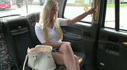 Sophie sucks and fucks in the backseat