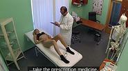 Doctor fucks his blonde chick patient