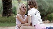 Lesbo teens Janee and Grace C erotic sex