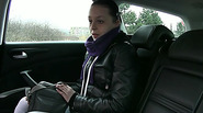 Hot and sexy Nikky gets screwed in taxi and receives sticky cumshot