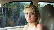 Hot blonde teen Dakota Skye seduces a stranger and she gets rammed