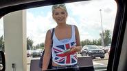 Lost blonde teen Dani Desire public fuck