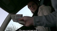 Sexy Zuzana gains cash and gets her pink pussy fucked by the pervy taxi driver