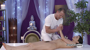 Masseur fucking tight hairy pussy