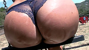 Athina fucked outdoor in public playground