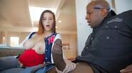 Big jucy tits Noelle Easton interracial
