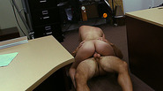 Cuban girl gets fucked afer her tv falls so her panty falls too