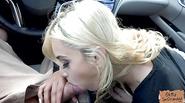 Sexy stranded slut Uma Jolie gets fuck in the car