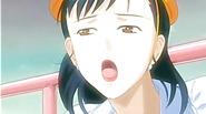 Anime school teacher pussy fingered outdoor