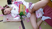 Horny Rei Mizuna loves touching her moist vagina