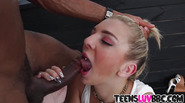 Blonde Tiffany Watson loves the BBC