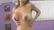 Brunette granny with big tits gets fucked hard