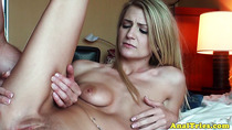 Butt fucked amateur bimbo gets it rough