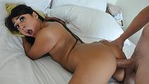 Busty hot slut Lexy Bandera first anal sex encounter