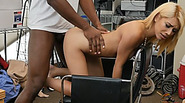 Norah Gold gets a nasty surprise in her pussy in a form of a giant black anaconda