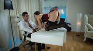 Sweet Taissias office horny thrill sex and destroyed by big cock
