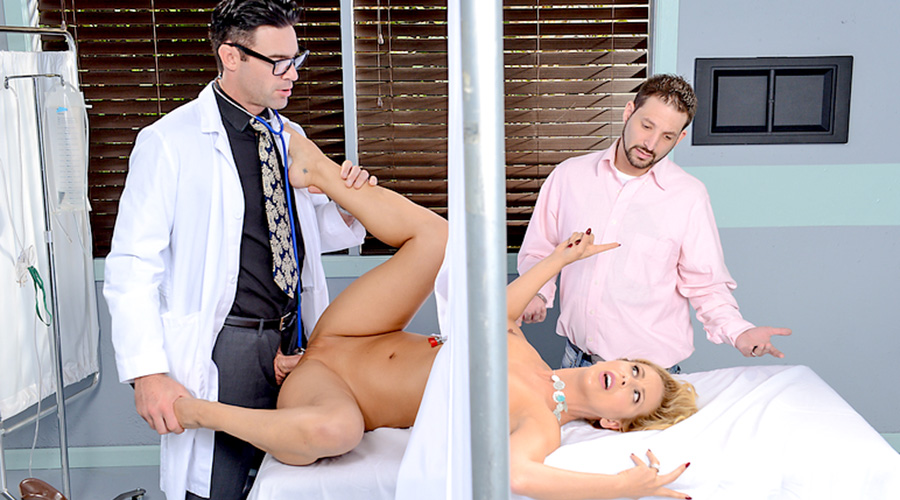 Naughty Doctor Fucks His Hot Milf Patient During Check Up-6684