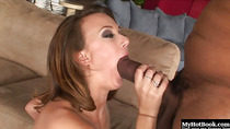 Mia Grey could be at home having sex with her white husband right
